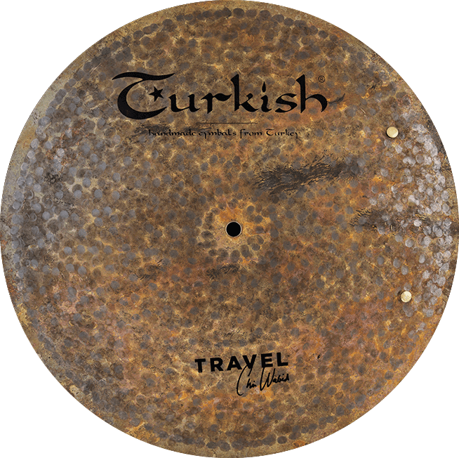 Turkish Cymbals Travel Flat Ride Sizzle 16